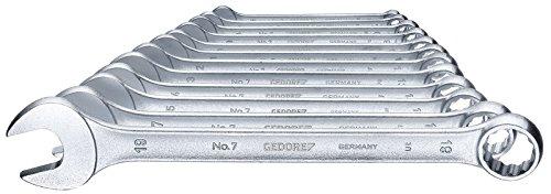 GEDORE Ring-Maulschlüssel-Satz 12-Teilig, UD-Profil 6-19 mm, 7-0112