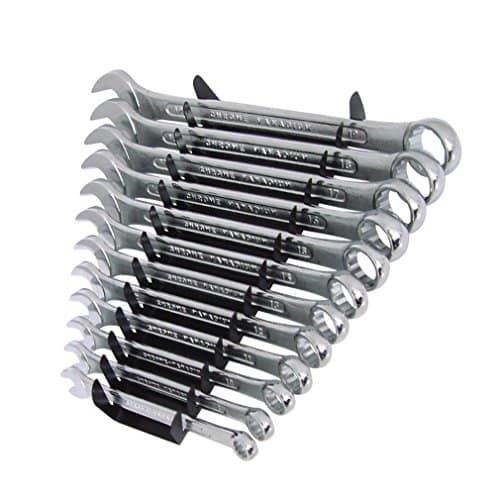 Silverline SP1236 Ring-Maulschlüssel, 12-tlg. Satz 8–19 mm